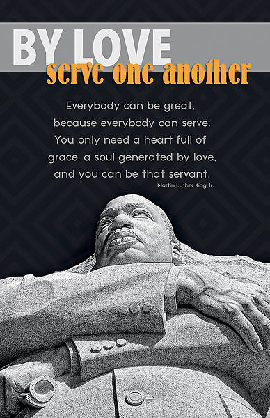 Picture of By Love MLK Black History Regular Size Bulletin