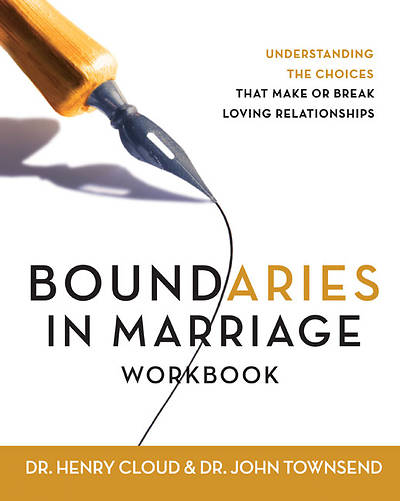 Picture of Boundaries in Marriage Workbook