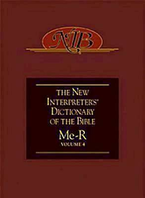 New Interpreters Dictionary of the Bible Volume 4 - NIDB