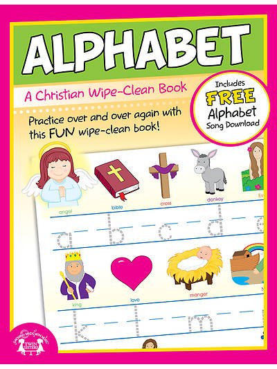 Alphabet Wipe Clean Workbook