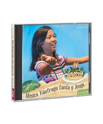 Picture of CD de Musica Naufrago Canta y Juega Version del Lider Serie de 2 Cdespanol/ Castaway Sing & Play Music Leader Version 2-CD Setspanish