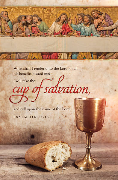 Cup of Salvation Maundy Thursday Bulletin