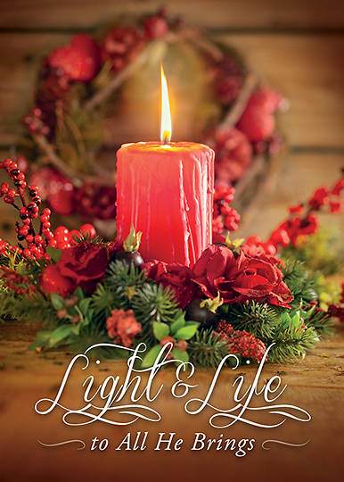 Picture of Light and Life To All He Brings Cards - Box of 12 1 John 2:8