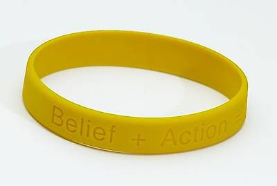 A Disciples Path Rubber Wristband (Pkg of 10)