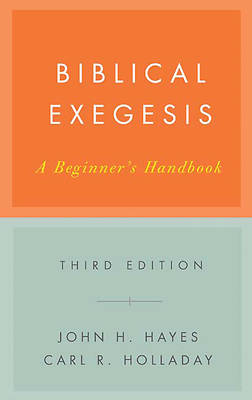 Picture of Biblical Exegesis Third Edition