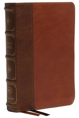 Picture of Kjv, Compact Bible, MacLaren Series, Leathersoft, Brown, Comfort Print