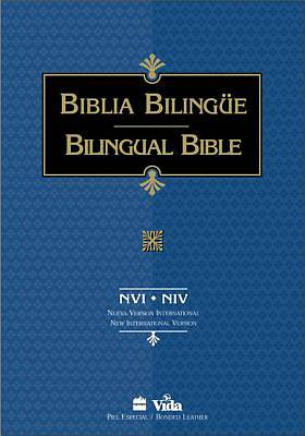 Bilingual Bible New International Version Spanish Imitation Leather Index