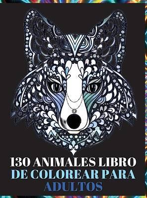 Picture of 130 Animales Libro de Colorear para Adultos