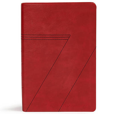 Picture of CSB Seven Arrows Bible, Crimson Leathertouch