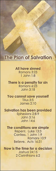 Plan of Salvation Bookmark - Pack of 25
