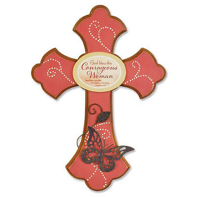 Courageous Woman Cross