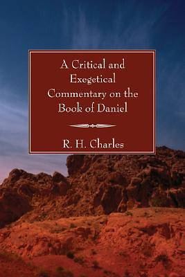 Picture of A Critical and Exegetical Commentary on the Book of Daniel