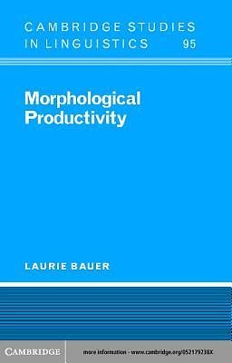 Morphological Productivity [Adobe Ebook]