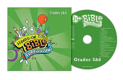 Picture of Hands-On Bible Curriculum Grades 5 & 6 CD Summer 2015