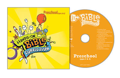 Picture of Hands-On Bible Curriculum Preschool CD Spring 2016