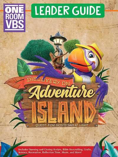 Picture of Vacation Bible School (VBS) Discovery on Adventure Island One Room Leader Guide