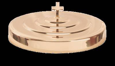 COPPER COMMUNION TRAY COVER WITH KNOB