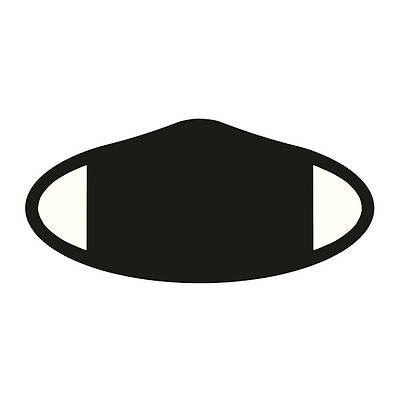 Picture of Decomask Universal Fit Face Mask - Black