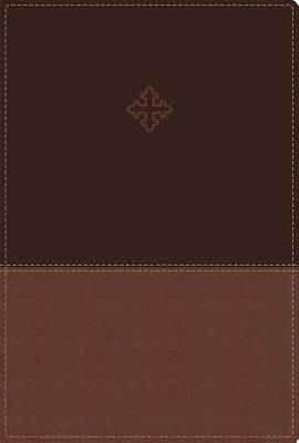 Picture of Amplified Study Bible, Imitation Leather, Brown, Indexed