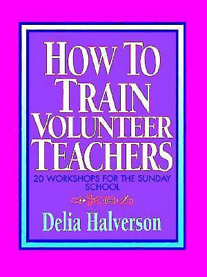 How to Train Volunteer Teachers