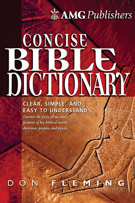 Picture of The Amg Concise Bible Dictionary