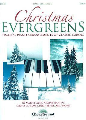 Christmas Evergreens Piano Collection