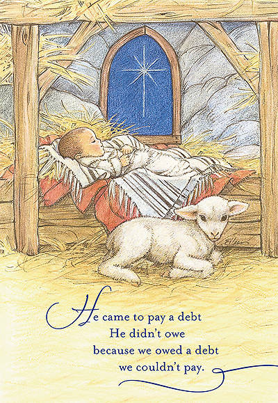 He Came to Pay a Debt Christmas Boxed Card, Box of 18
