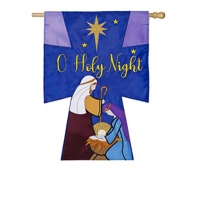 Oh Holy Night House Flag