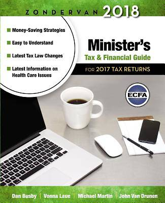 Zondervan 2018 Ministers Tax and Financial Guide