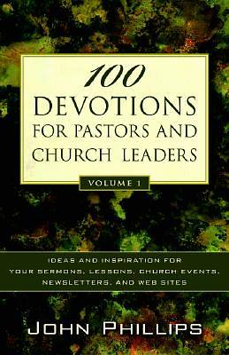 Picture of 100 Devotions for Pastors and Church Leaders, Volume 1