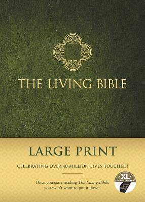 Picture of The Living Bible, Large Print Edition