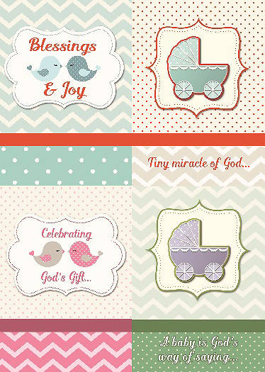 Blessings and Joy Baby Boxed Cards