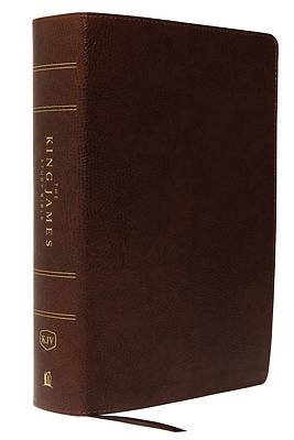Picture of The King James Study Bible, Bonded Leather, Brown, Full-Color Edition
