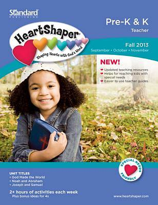 Standard HeartShaper Pre-K/K Teacher Book Fall 2013