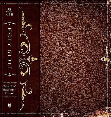 The Notetakers Bible - HCSB - Mens