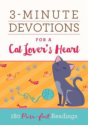 Picture of 3-Minute Devotions for a Cat Lover's Heart