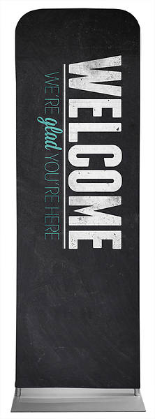 Picture of Slate Welcome Sleeve Banner