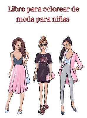 Picture of Libro para colorear de moda para niñas
