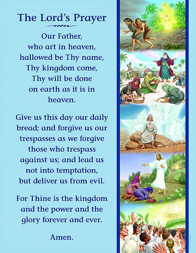 Concordia Vacation Bible School 2012 Amazing Desert Journey Lords Prayer Poster