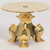 "Picture of Koleys K861 24K Gold Plated 10 3/4"" Candlestick"