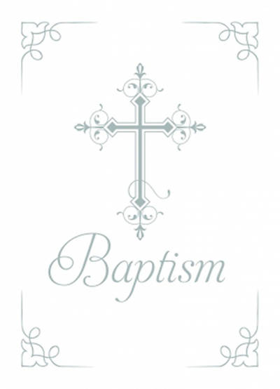 Certificate of Baptism Package of 6