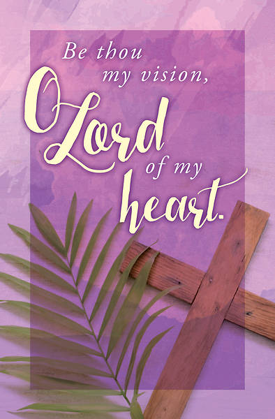 Picture of Be Thou My Vision Lent Bulletin (Pkg of 50)