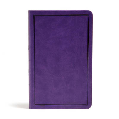 Picture of KJV Deluxe Gift Bible, Purple Leathertouch