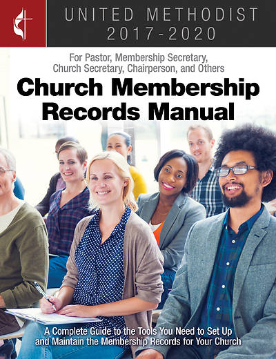 Picture of The United Methodist Church Membership Records Manual 2017-2020