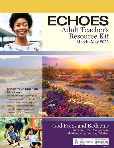 Echoes Adult Teachers Resource Kit Spring