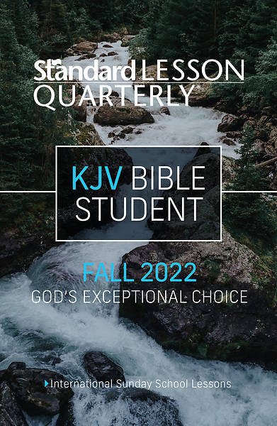 Picture of Standard Lesson Quarterly KJV Bible Student Book Fall