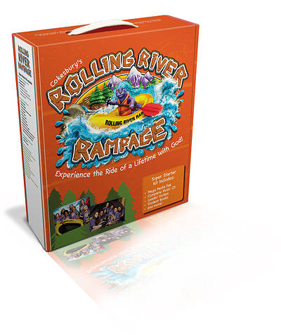 Vacation Bible School (VBS) 2018 Rolling River Rampage Super Starter Kit