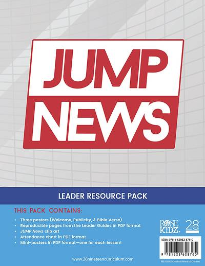 Picture of 28nineteen Jump News Leader Resource Pack