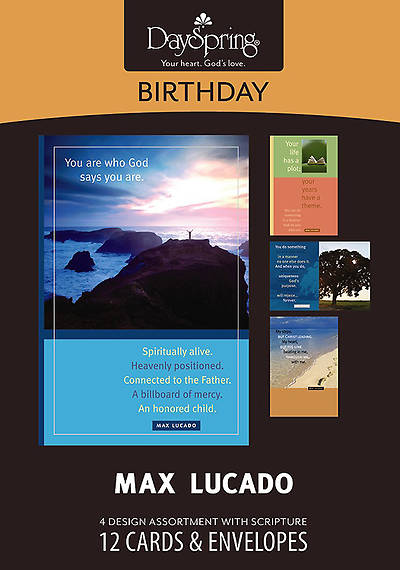 Max Lucado - Birthday Boxed Cards