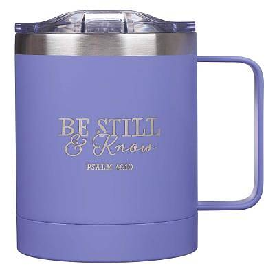 Picture of Mug Stainless Steel Camp Be Still & Know - Psa 46